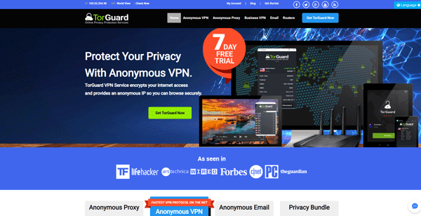 TorGuard Best Secure Email Services to Send Encrypted Email