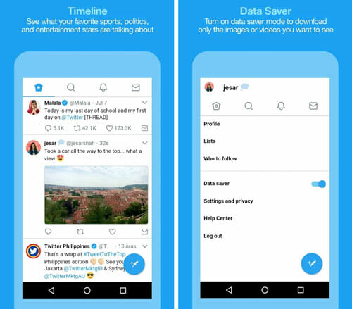 Twitter Lite Best Lightweight Apps to Save Memory