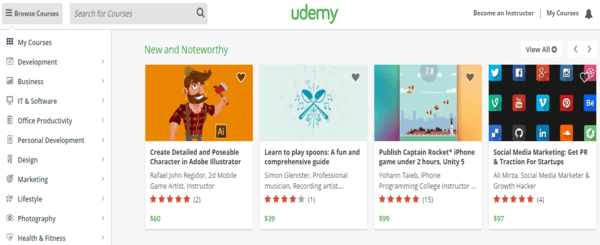 Udemy Account