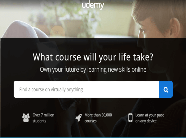 Udemy Official Site