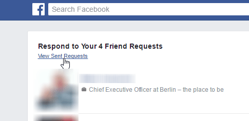 How to Check Sent Friend Requests on Facebook