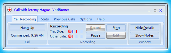 VodBurner Best Apps to Record Skype Call on Windows