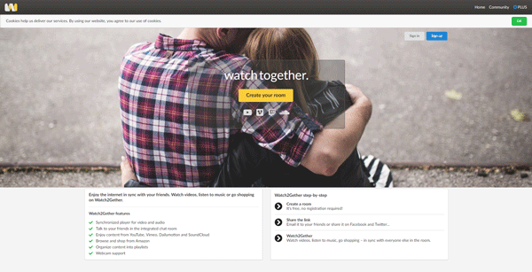 Watch2gether Best Apps to Watch Videos Online with Anybody in Real Time
