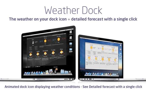 Weather DOck