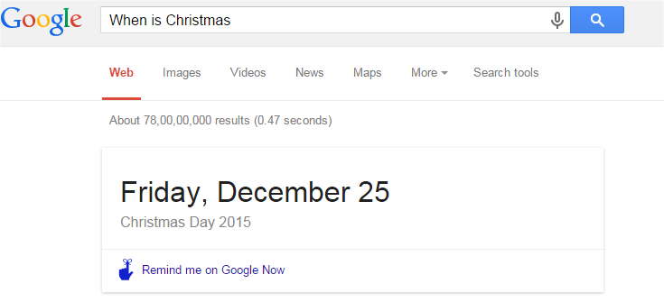 When is Christmas