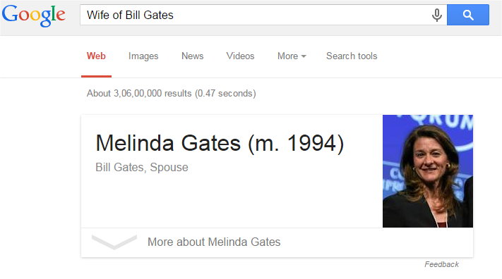 Wife of BillGates