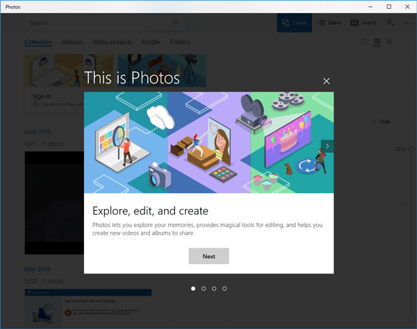 Windows Photos App Not Working on Windows 10