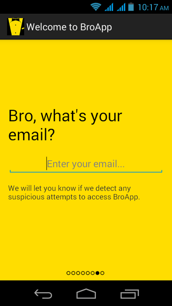 Write-Email-ID-in-BroApp