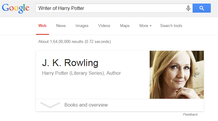 Writer of Harry Potter
