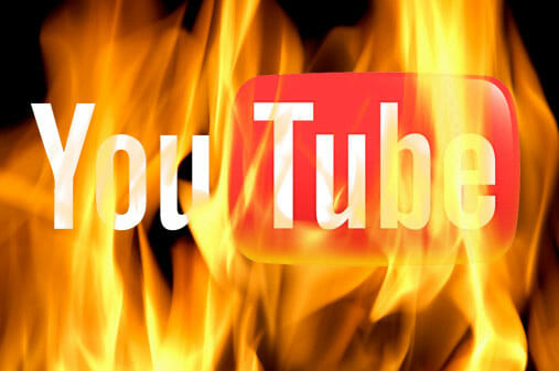 YouTube in Fire