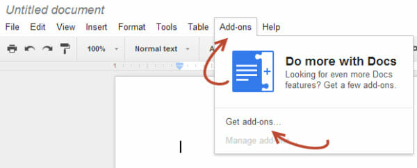 add-ons-for-google-Docs-and-Sheets