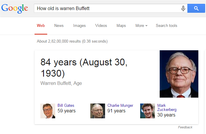 age warren buffet