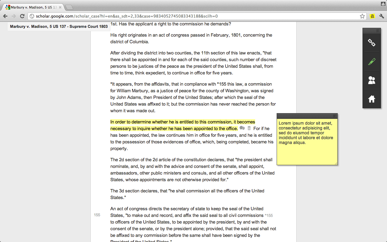 Annotary - Add notes to highlighted text