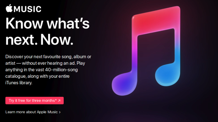 apple music curated list