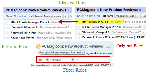 Remove Unnecessary Items from Google reader