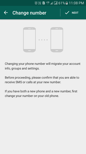 change phone number whatsapp tips and tricks
