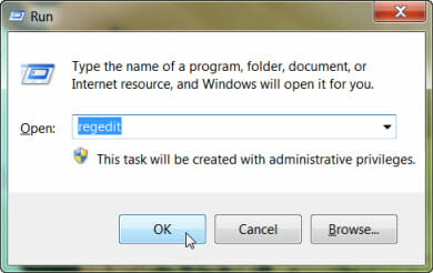 change windows 7 logon screen start registry editor