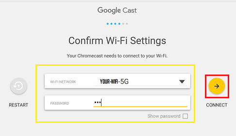 how to change chromecast wifi name