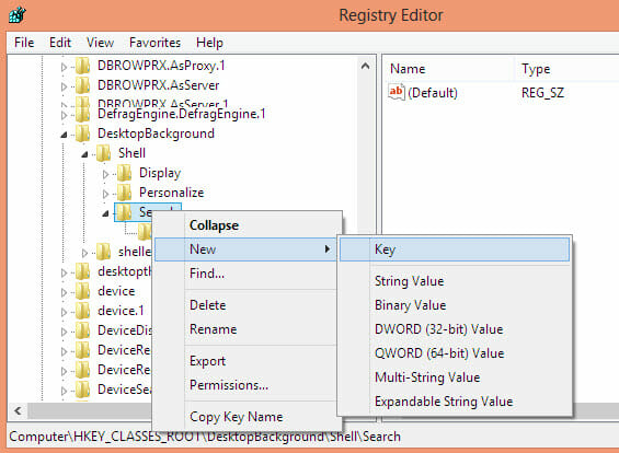 create-sub-registry-key