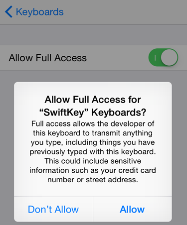 custom-keyboard-ios-8-full access