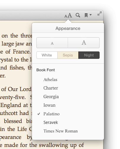 dark mode in ibook