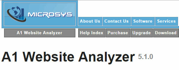 desktop-tools-to-find-broken-links-a1-website-analyzer