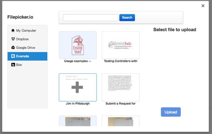 Draft connects with many cloud and web documenting tools