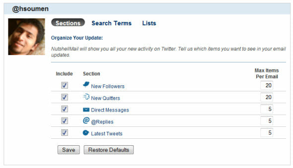 get-updates-all-your-social-networks-one-place-nutshellmail-twitter-options