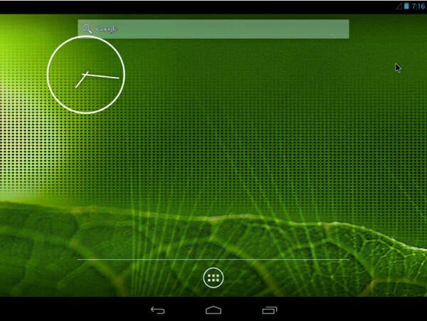 home_screen_install android os on pc, mac or linux