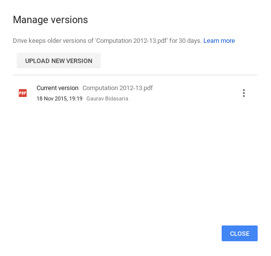how to hide files in google - new version