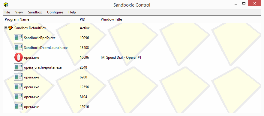 how to use -  sandboxie