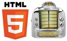 html 5 audio player for web browsers