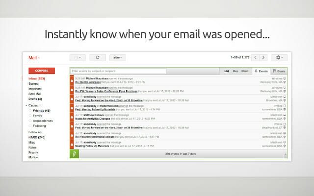 Know whether email was opened or not