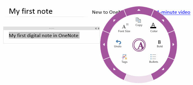 onenote-text-formatting-pane