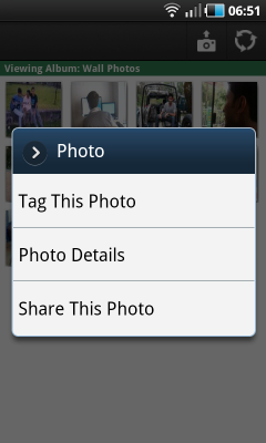 Photo tagging and captions