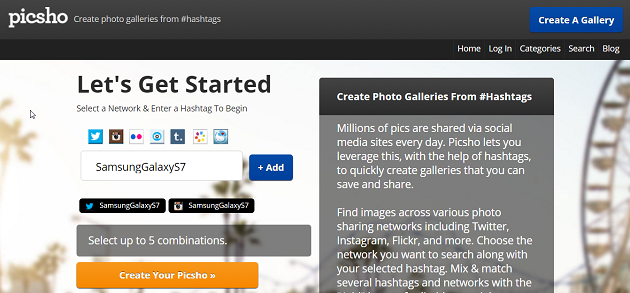 picsho-selecting-sites-hashtags
