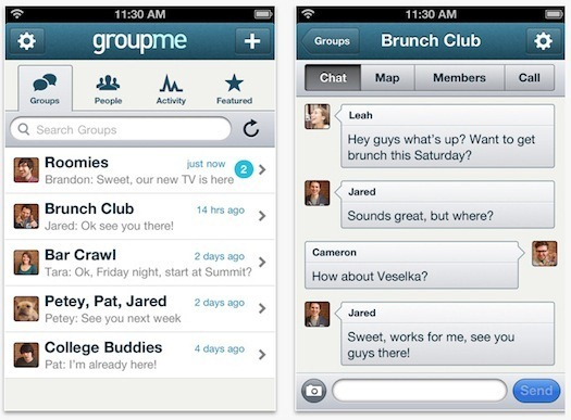 Group SMS service for conferencing