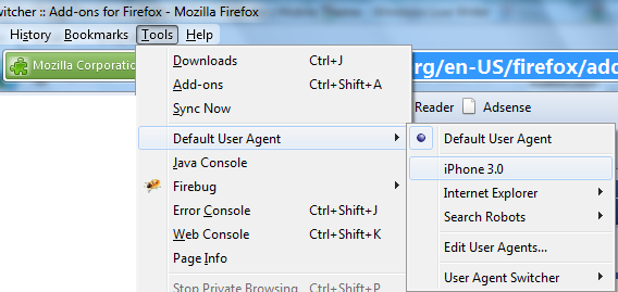 user-agent-switcher-firefox