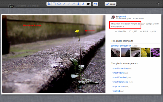 Awesome screenshot Chrome extension and image editor