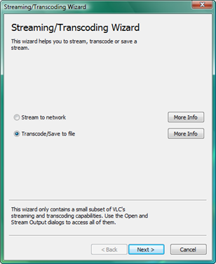 Transcoding window