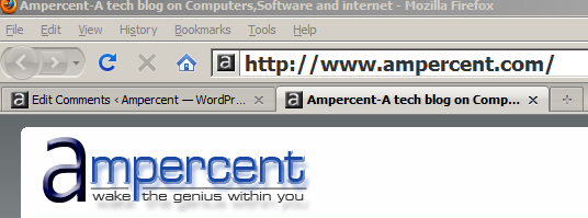 Increase the font size of Firefox address bar