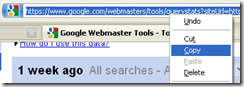 Connect webmaster tools with Ms excel
