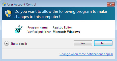 enable/disable auto-activation in windows 7 | uac confirmation