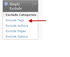 Exclude posts of certain tags in WordPress blog homepage