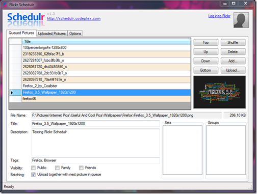 flickr-scheduler-batch-uploader