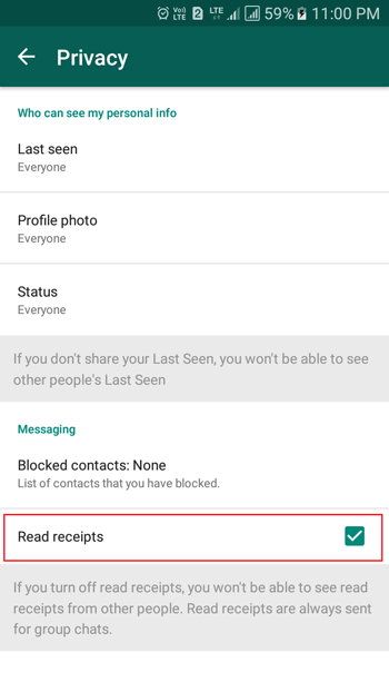 remove blue tick whatsapp tips and tricks