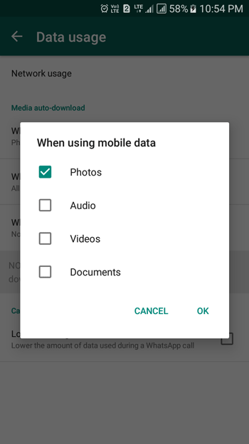 set up auto download of media files whatsapp tips and tricks