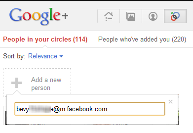 Share Google Plus posts On Facebook