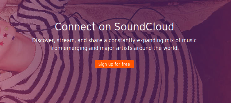 soundcloud to discover new music