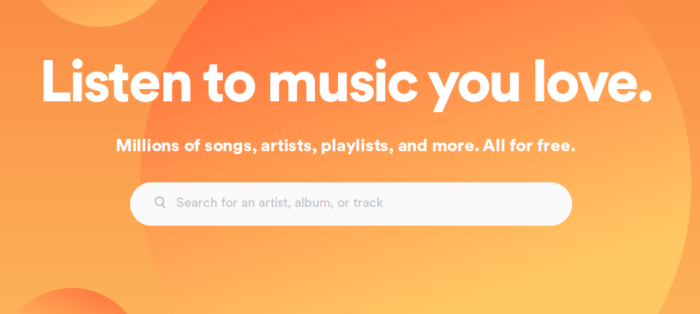 spotify to listen and discover new music